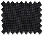 Medium Wool Black with White Houndstooth