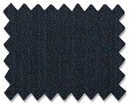 Medium Wool Navy Herringbone