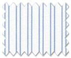 160's Superfine Cotton Light Blue Stripe