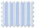 160's Superfine Cotton Light Blue/Dark Blue Stripe