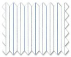 160's Superfine Cotton Blue/Purple Stripe