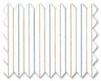 160's Superfine Cotton Blue/Red Stripe