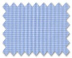 160's Superfine Cotton Light Blue Check