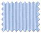 160's Superfine Cotton Light Blue Stripe