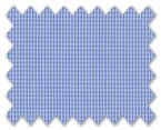 160's Superfine Cotton Blue Check