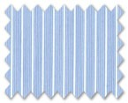 160's Superfine Cotton Blue Stripe