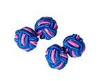 Blue Pink Silkknot