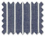 V.B. Summer Wool Blue with White Stripe