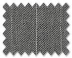 V.B. Summer Wool Light Grey with White Stripe