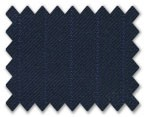 V.B. Spring Wool Navy with Blue Stripe