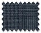 V.B. Summer Wool Medium Blue Prince Wales Check