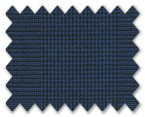 V.B. Summer Wool Blue with Light Blue Prince Wales Check