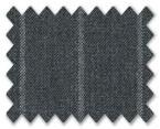 V.B. Super 120's Wool Dark Grey with White Stripe