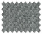 V.B. Spring Wool Grey with White Stripe