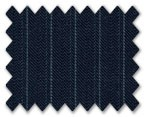 V.B. Spring Wool Dark Blue with Light Blue Stripe