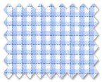 Zegna Timeless 100% Cotton Blue/White Check