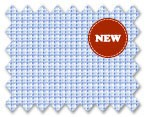 Zegna 100% Cotton Blue Check