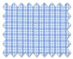 Zegna 100% Cotton Blue Check