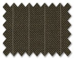 Medium Wool Brown with White Stripe