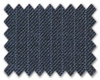 Medium Wool Blue with Light Blue Stripe
