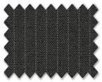 Summer Wool Dark Grey with White Stripe