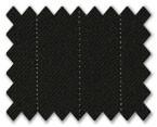 Summer Wool Black with White Stripe