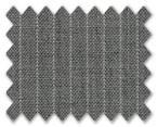 Summer Wool Light Grey with White Stripe