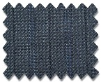 Loro Piana 130's Wool Navy with Blue Stripe