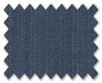 Loro Piana 130's Wool Blue with Blue Stripe