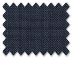 Loro Piana 130'S Wool Dark Blue Check