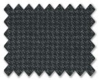 Loro Piana 130'S Wool Charcoal Grey Houndstooth