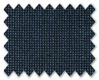 Loro Piana 130's Wool Dark Blue Dots
