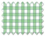 Wrinkle Free Cotton Green/Light Green Check