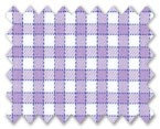 Wrinkle Free Cotton Purple/Light Purple Check
