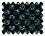 160's Superfine Cotton Dark Blue/Light Blue/Black Printed