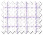 Linen Purple/White Check