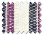Linen Dark Blue/Purple Stripe