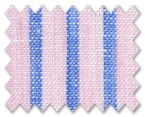 Linen Pink/Blue Stripe