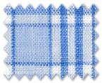Linen Light Blue/Blue Check