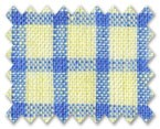 Linen Yellow/Blue Check