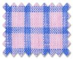Linen Pink/Blue Check