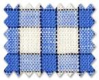 Linen Blue Check