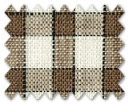 Linen Brown Check