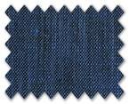 Linen Dark Blue Plain