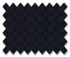 100% Cotton Black Check