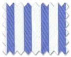 Wrinkle Free Cotton Blue Stripe
