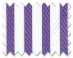 Wrinkle Free Cotton Purple Stripe