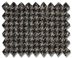 Marzoni Cashmere Wool Brown Houndstooth