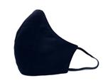 Plain Black Cotton Face Mask